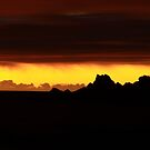 Bass Strait sunset by phillip wise