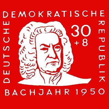 Johann Sebastian Bach (Bachjahr 1950) by IMPACTEES