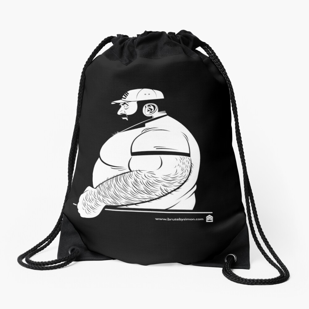 Brute Classic Drawstring Bag Front