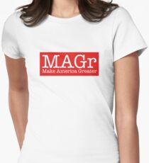 Make America Greater MAGr Women's Fitted T-Shirt