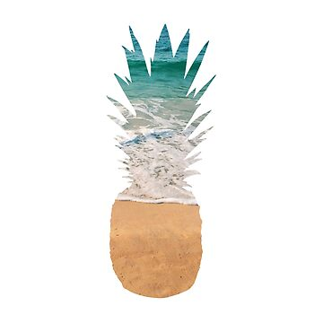 Pineapple Beach Graphic by whimseydesigns