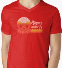 Octopus Oasis Men's V-Neck T-Shirt