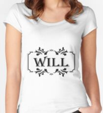 Frame Name Will Women's Fitted Scoop T-Shirt