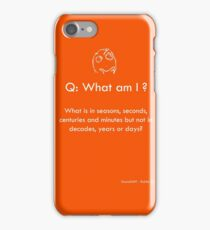 Riddle #4 iPhone Case/Skin