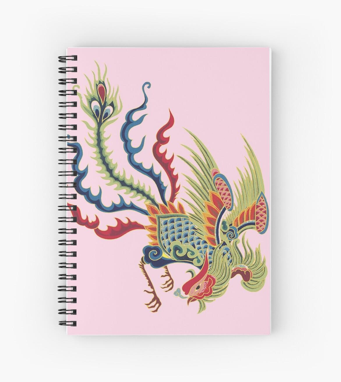 Asiatischer Kunst-Chinesischer Hahn von Zehda