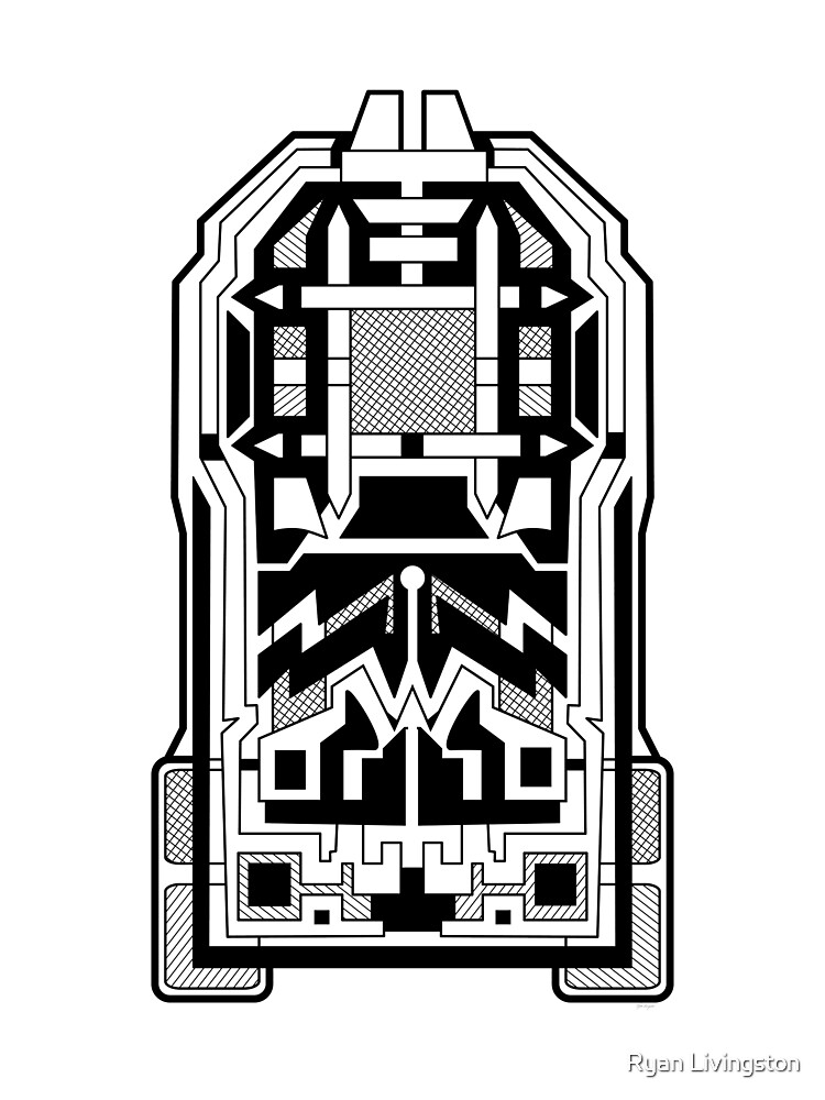 Monolith - Art Deco Design by Ryan Livingston