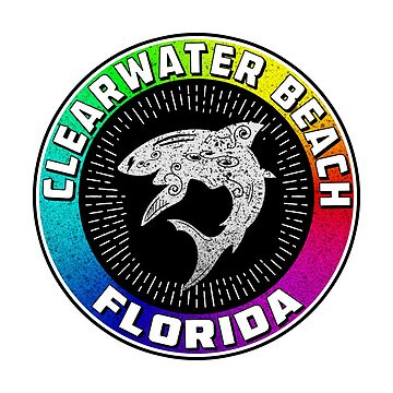 Clearwater Beach Florida Travel Vacation Shark Gulf Of Mexico by MyHandmadeSigns
