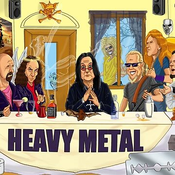 The Heavy Metal Supper by Ntok