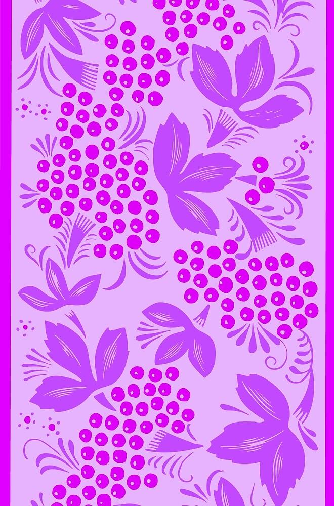 Purple Maple Ornament by diram
