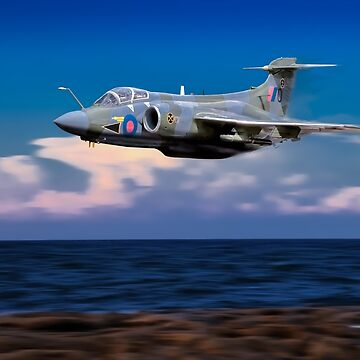 R.A.F. Buccaneer 16 Sqn by bmphoto