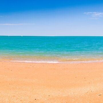 Town Beach Hight Tide  by Elliot62