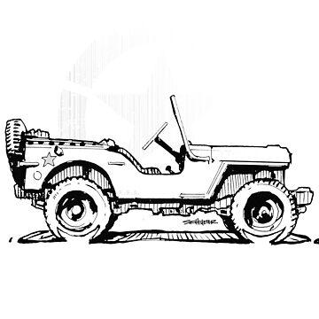 G.I Hero Willys - WW2  by robert1117