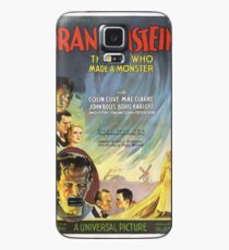 Vintage poster - Frankenstein Case/Skin for Samsung Galaxy