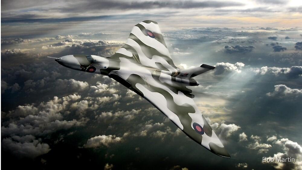 R.A.F. Vulcan by Bob Martin
