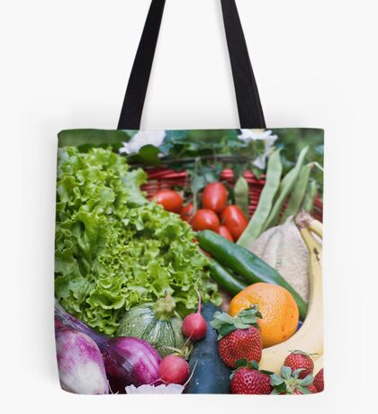 Fruit and vegetable basket Tote Bag