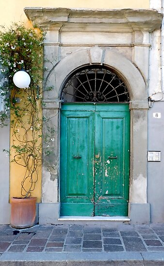 Turquoise Door by sarahclarch