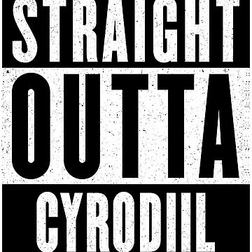 Straight Outta Cyrodiil by GHDParody