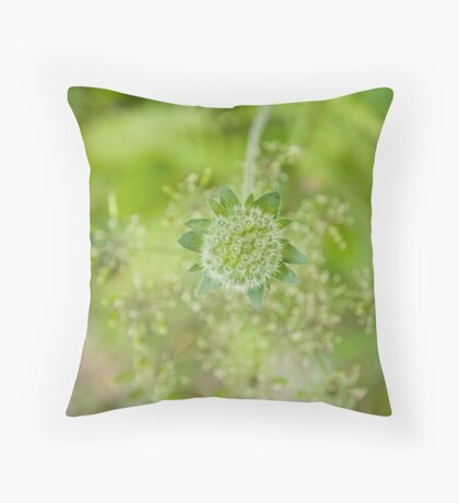 Greener Throw Pillow