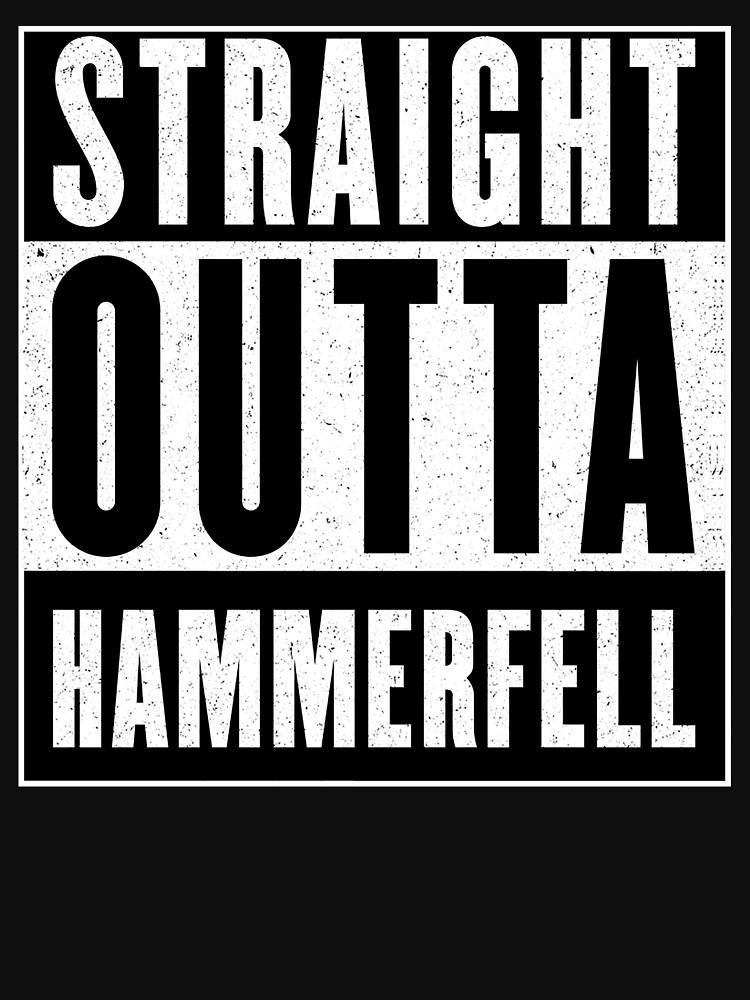 Straight Outta Hammerfell by GHDParody