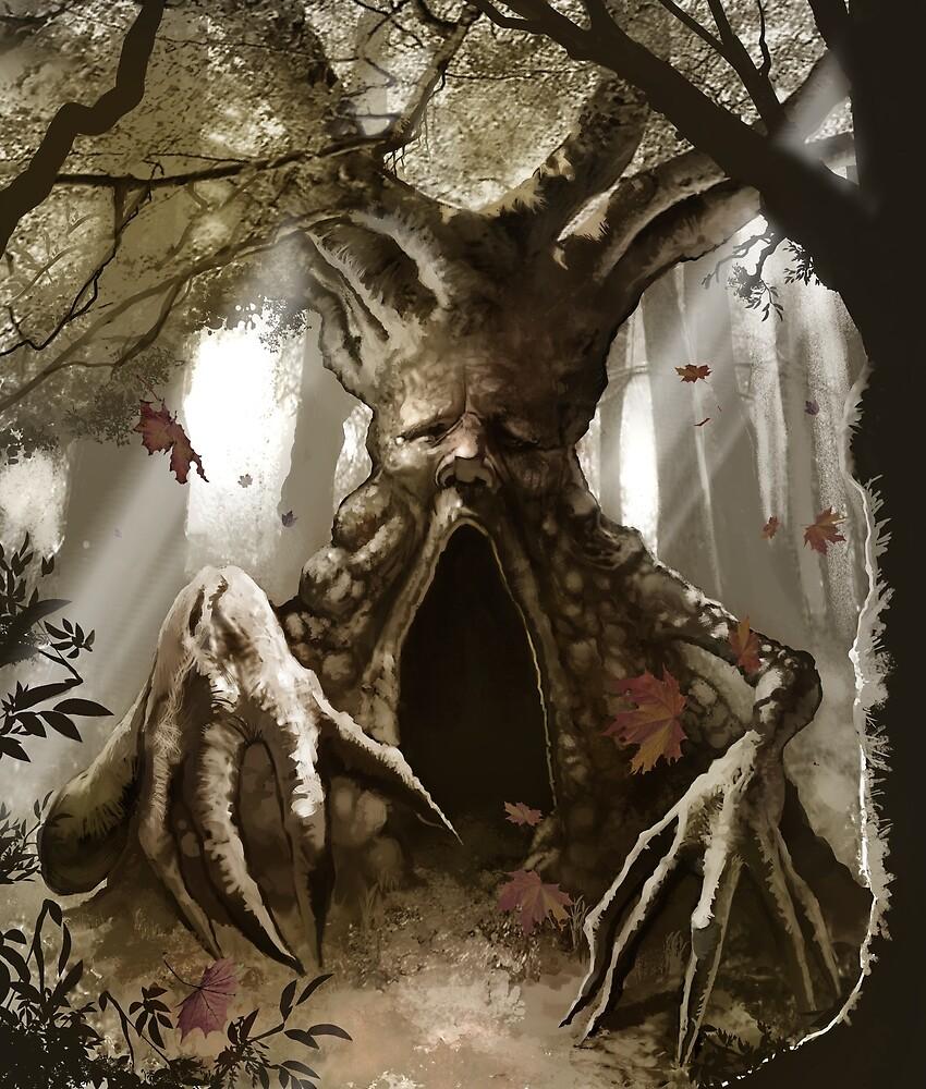 Treeman by MikeTenebrae