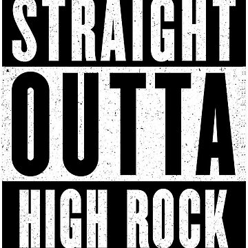 Straight Outta High Rock by GHDParody