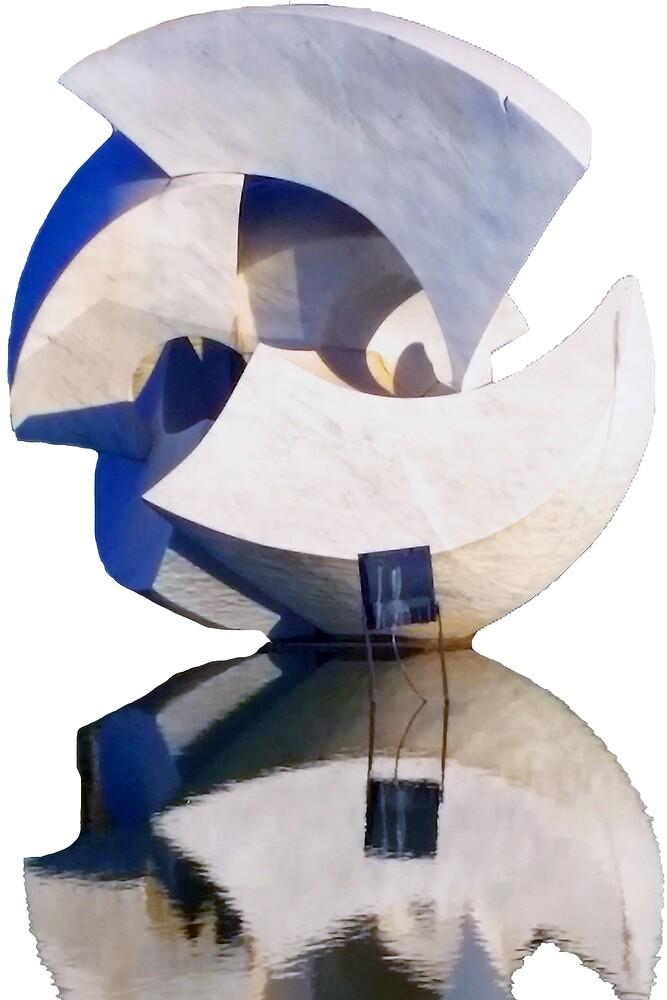 Brasilia - Sculpture by kevinwmclain