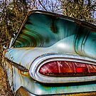 1959 Chevrolet Bel Air Classic Automobile Color Photo - Cars that I Used to Know Series by Deana Greenfield