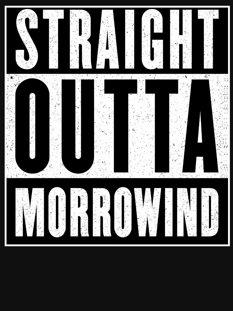 Straight Outta Morrowind by GHDParody