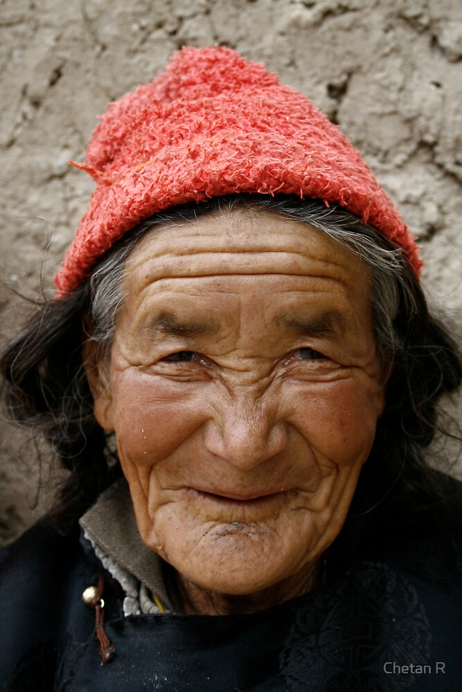 Ladakhi Woman by Chetan R