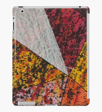 Corner Splatter # 13 iPad Case/Skin