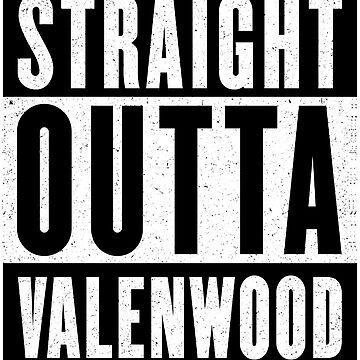 Straight Outta Valenwood by GHDParody