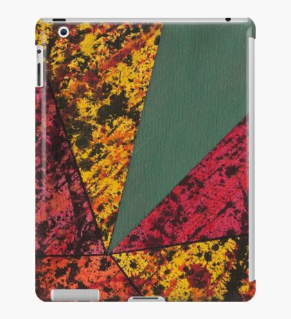 Corner Splatter # 14 iPad Case/Skin