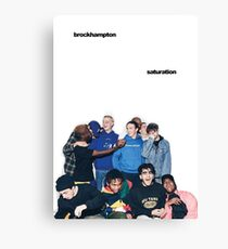 BROCKHAMPTON SATURATION Canvas Print
