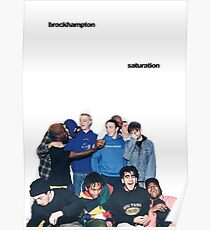 BROCKHAMPTON SATURATION Poster