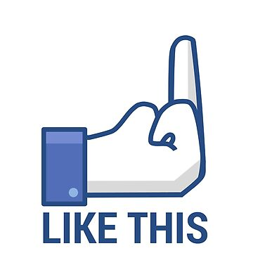 Facebook Middle Finger Like This by PWRDesigns