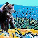 GRIZZLY CUB CARD by Alison Newth