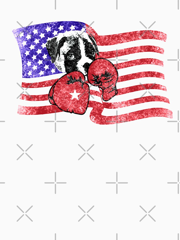 USA Boxing Boxer Dog by House-of-Roc