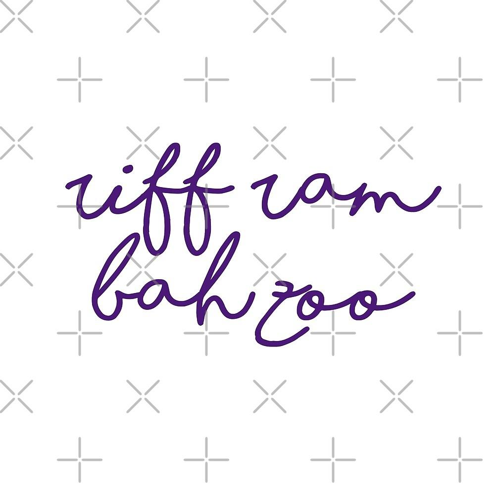 riff ram bah zoo / tcu by emilypadula