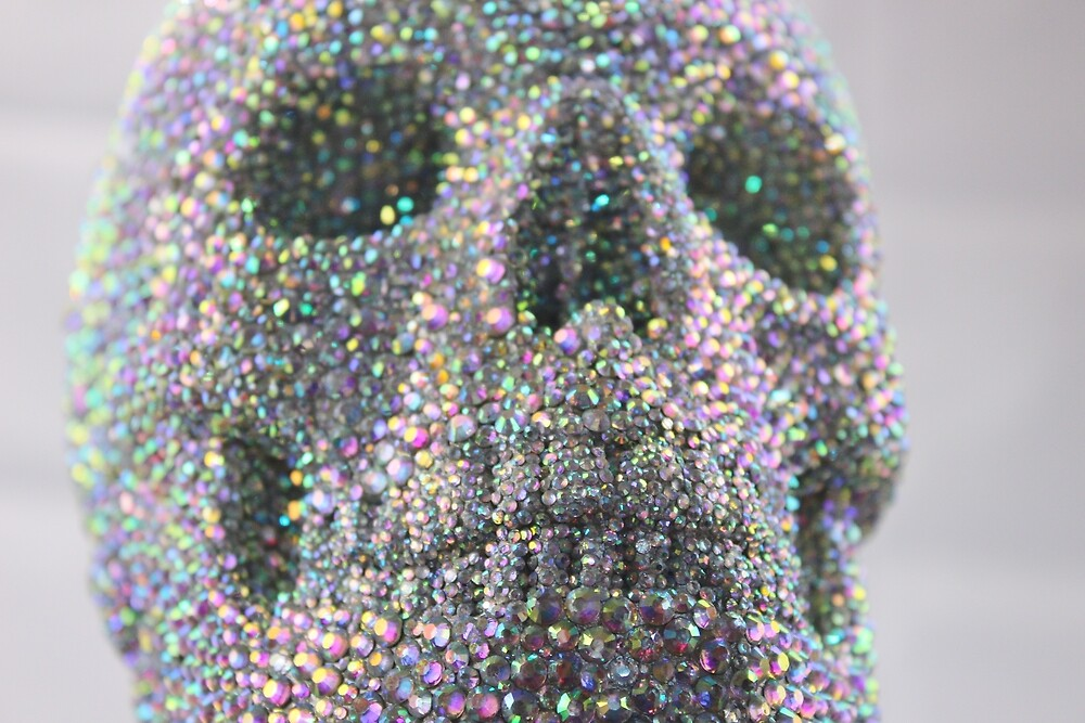 Super Bling Skull by Candice Hipkiss