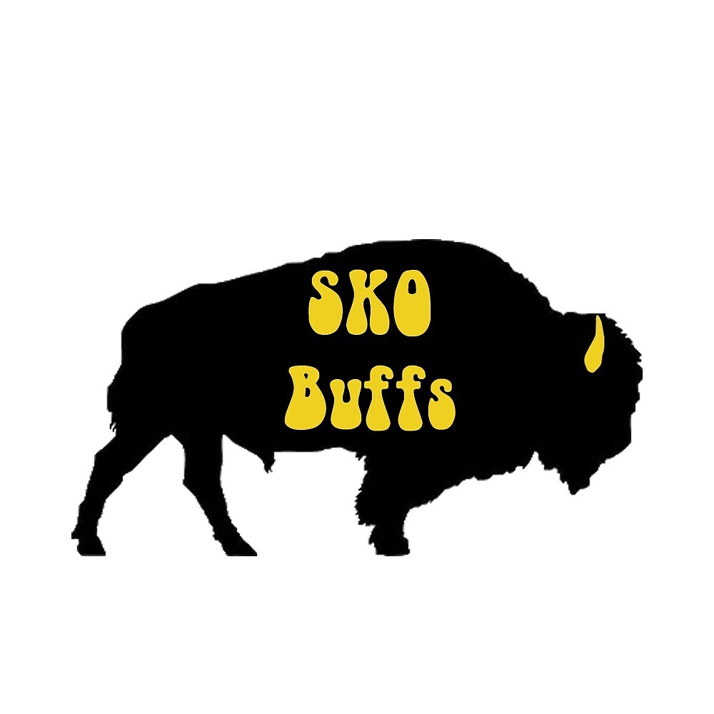 Sko Buffs buffalo outline by Tiera Zelenoy