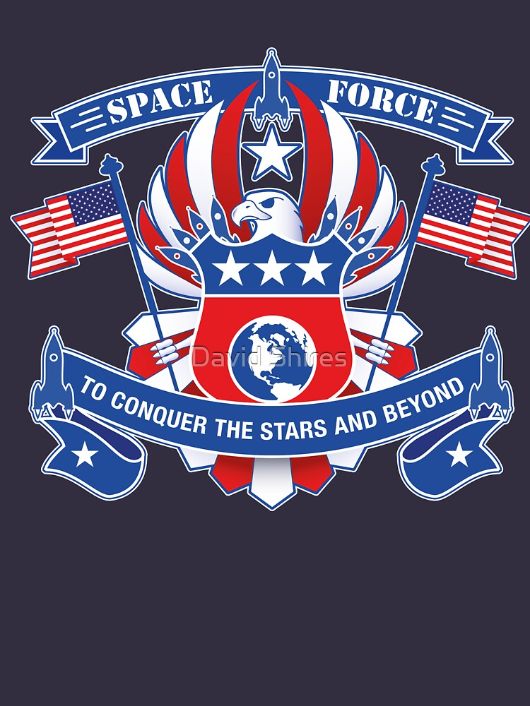 Space Force To Conquer The Stars And Beyond by Daratgh