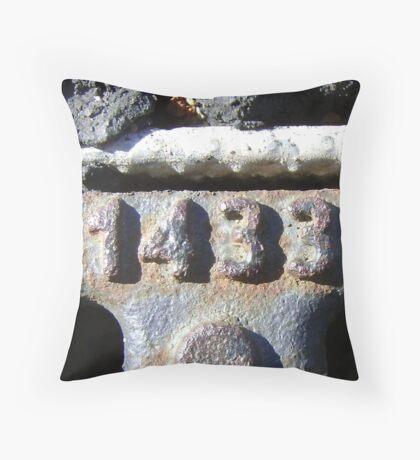 1433 Throw Pillow