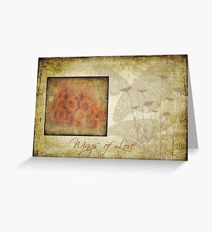 Wings of Love Greeting Card