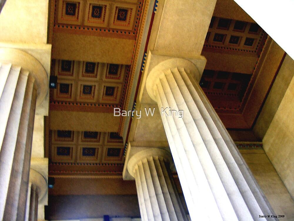 Parthenon 2  ( Nashville TN ) by Barry W  King