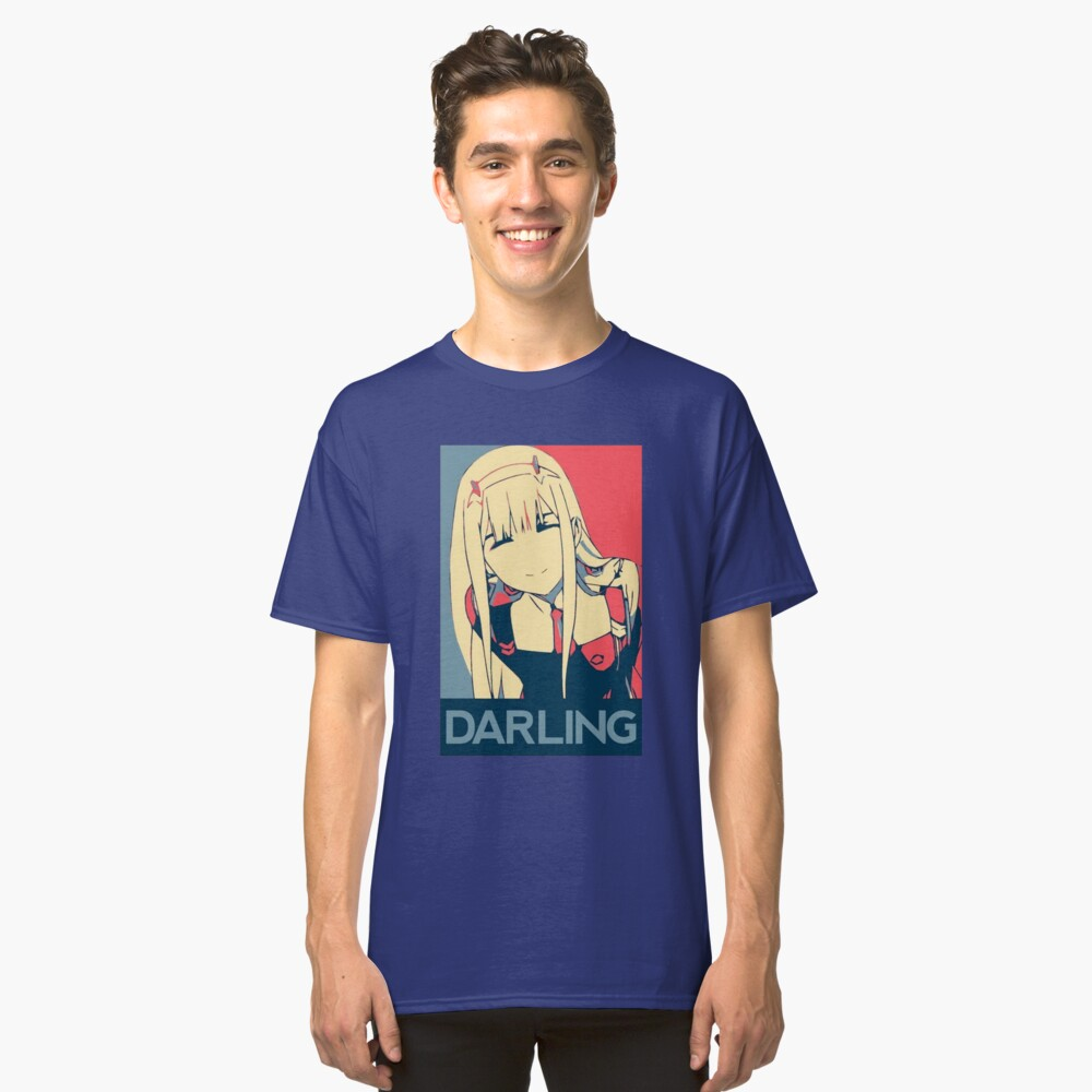 Darling In The Franxx Zero Two T-Shirt Classic T-Shirt Front