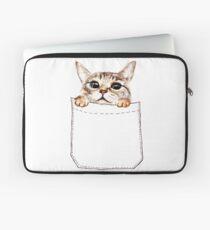 Pocket cat Laptop Sleeve