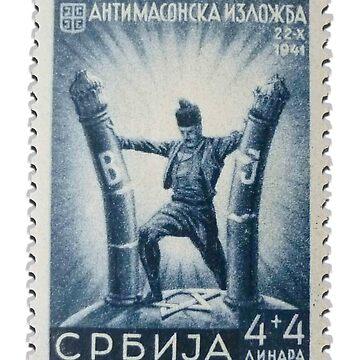 Anti Masonic Stamp by pgnas