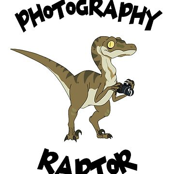 Photography Raptor - Rick and Morty Inspired Design by landobry