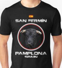 San Fermin Toro Pamplona Spain T-shirt Unisex T-Shirt