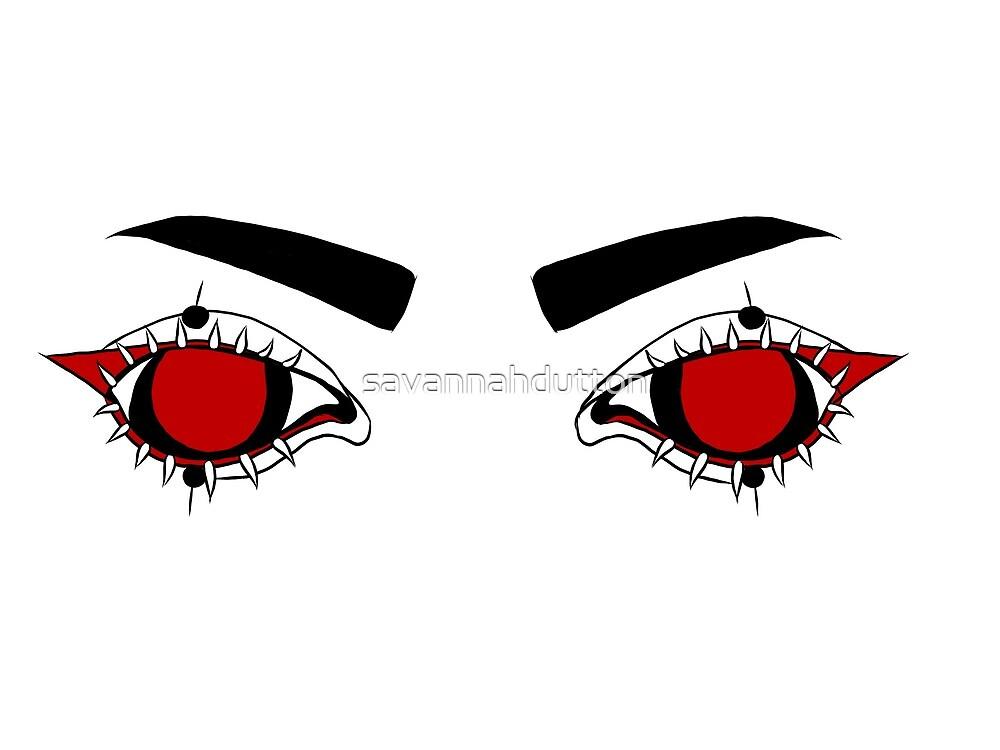 Red eyes by savannahdutton